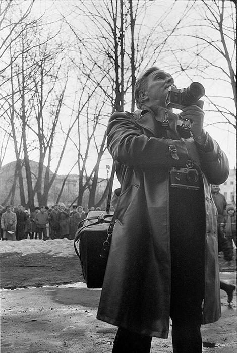Портрет Владимира Ивановича Когутенко моего учителя фотографии, председателя фотоклуба
