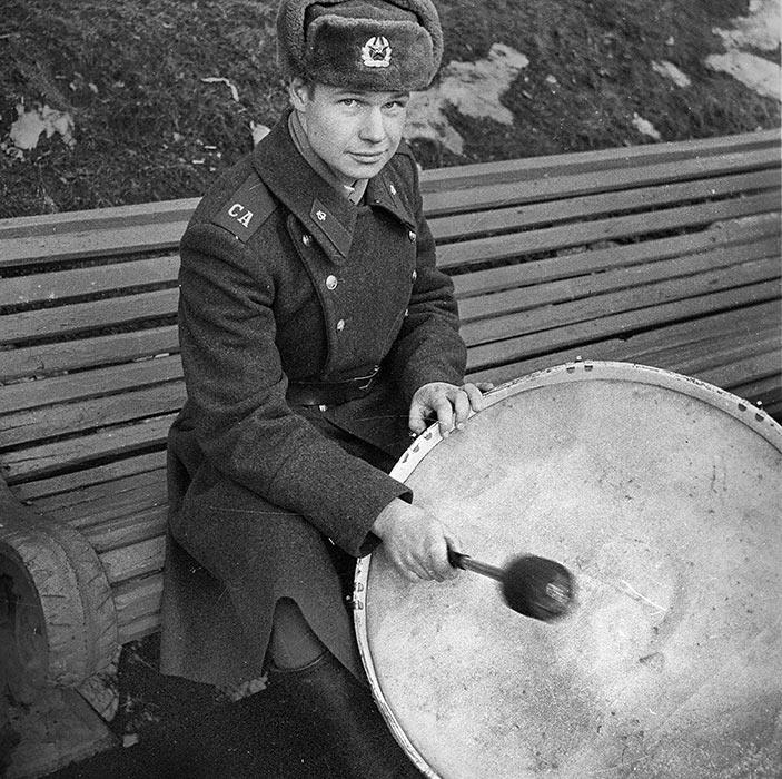 Барабанщик. Минск. Парк М.Горького. 1985 год