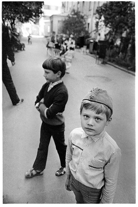 Мальчик в пилотке. Минск. 1985г.