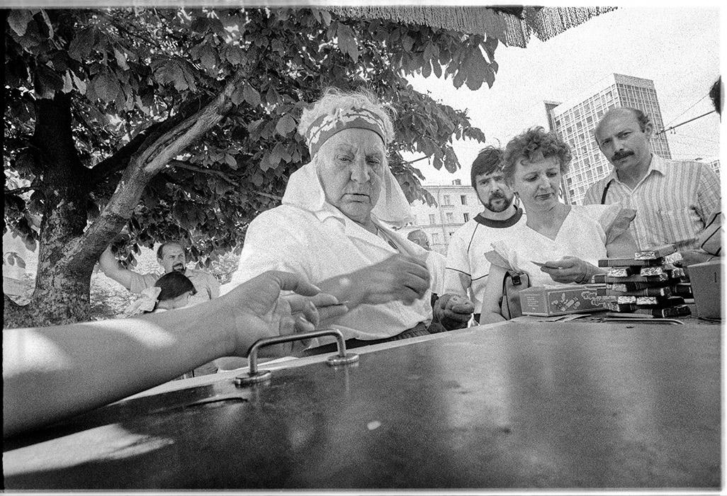 Продавец. 1987 год. Минск