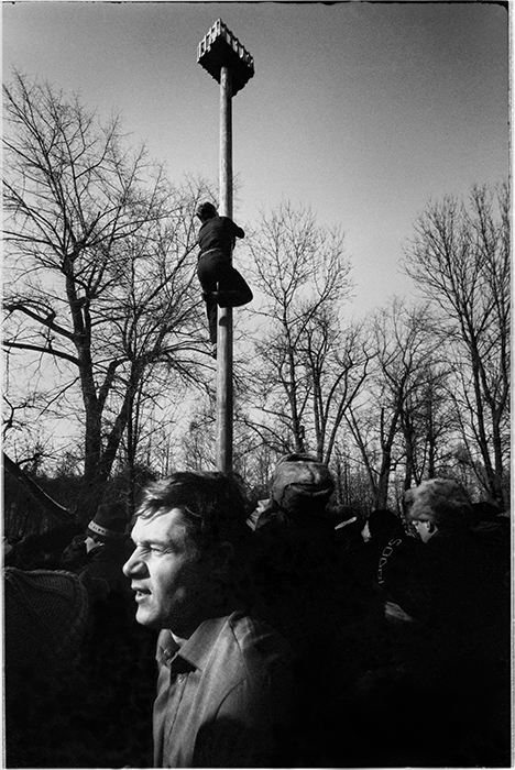 Масленница в парке Горького. Минск. 1986 год