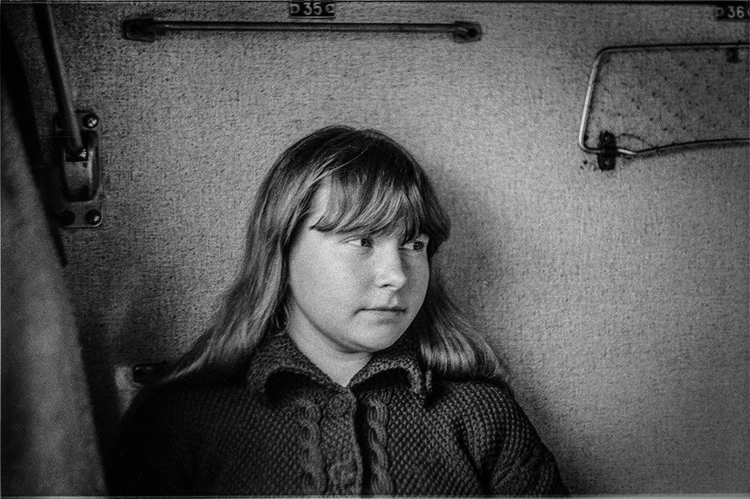 Попутчица в поезде. 1986год. Минск