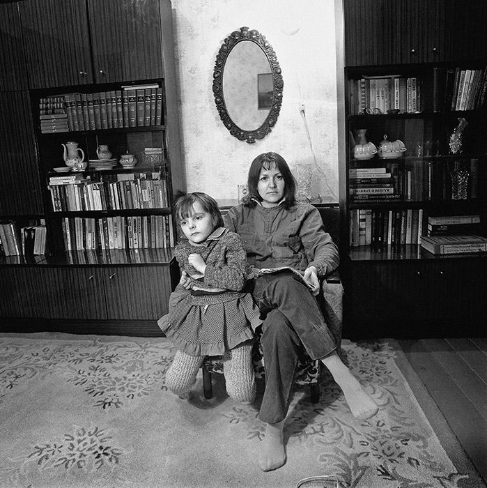 Портрет с мамой. Минск 1987 год