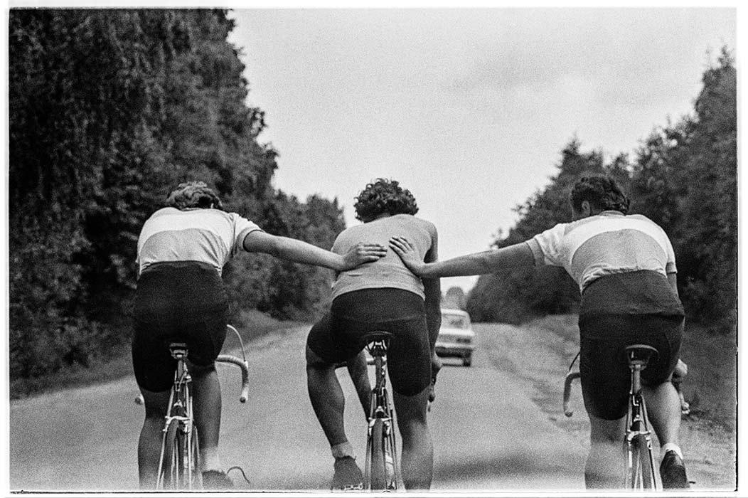 На дороге. Около Минска 1985 год