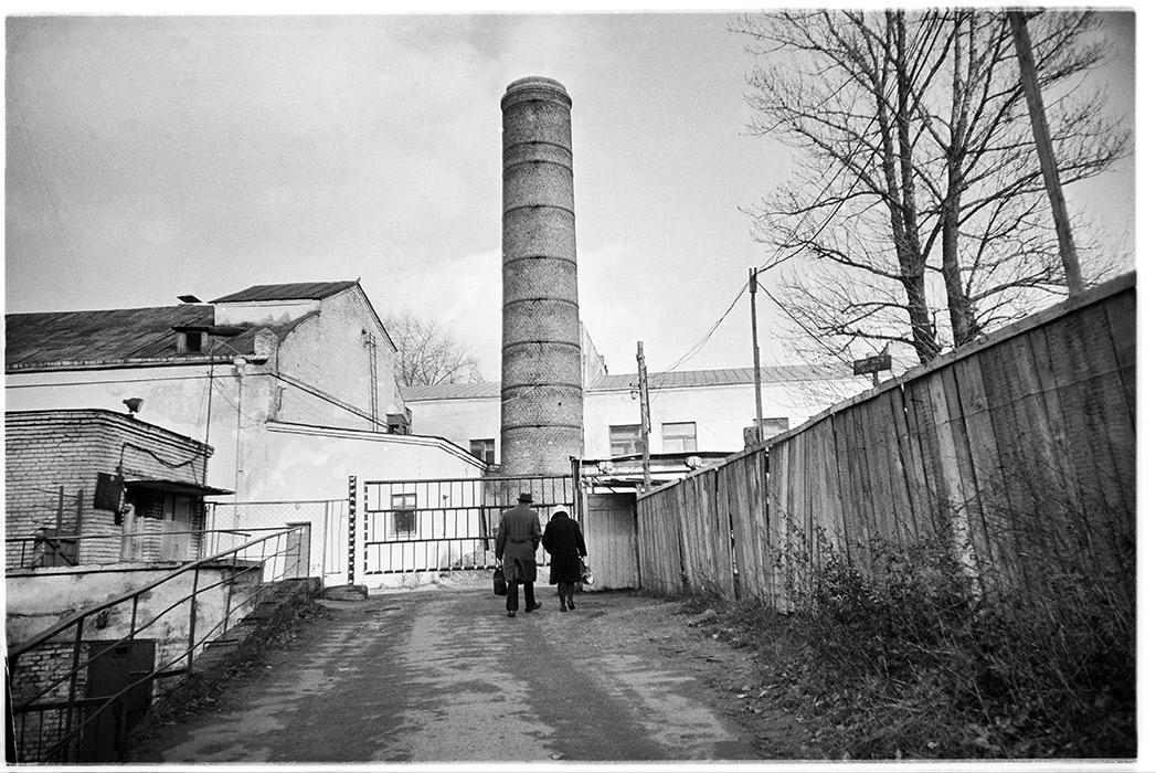 Фабрика кухни на улице Берсона. Минск 1985год