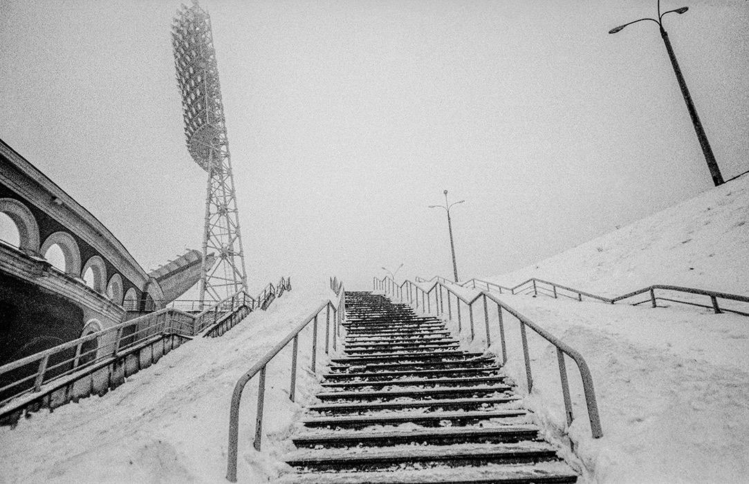 Стадион Динамо. Минск 1983год