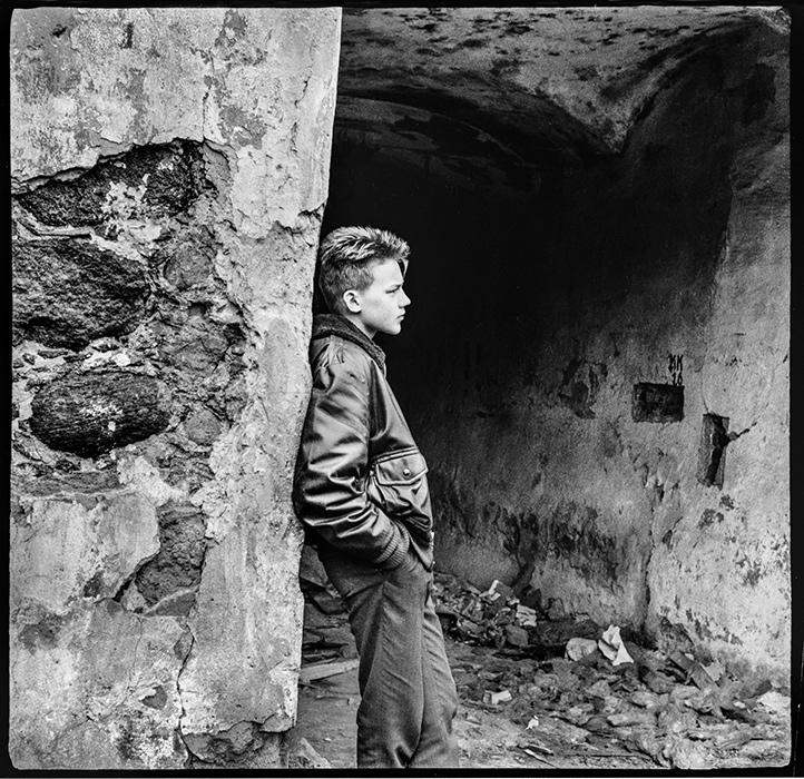Минск. Верхний город. 1988год