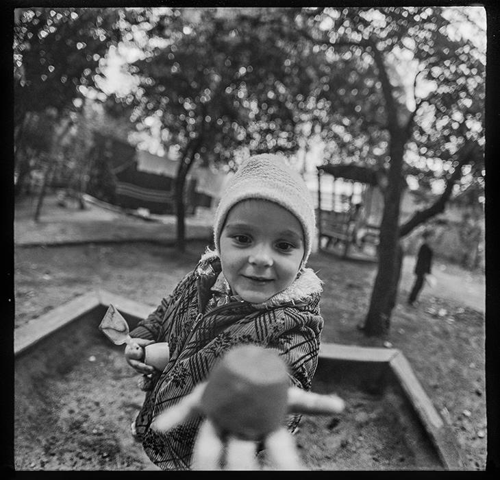 В песочнице. Минск. 1986г.