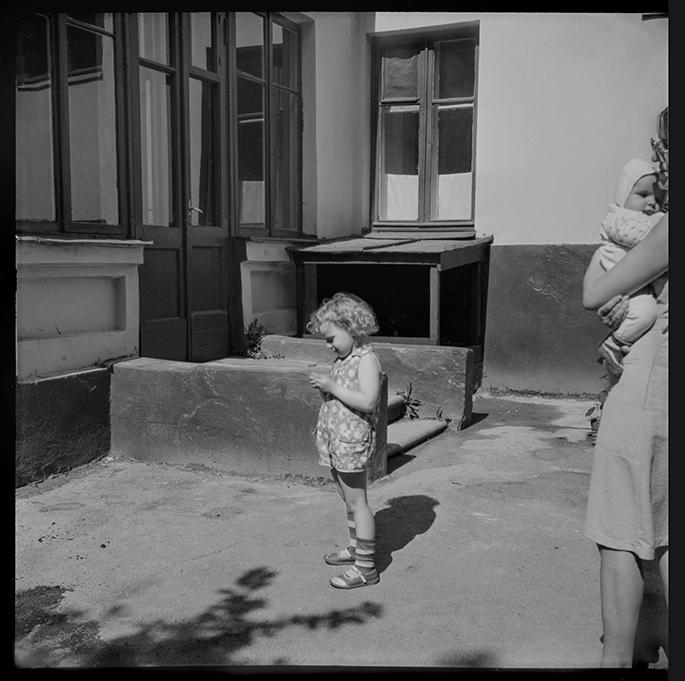 Во дворе. Минск. 1984год