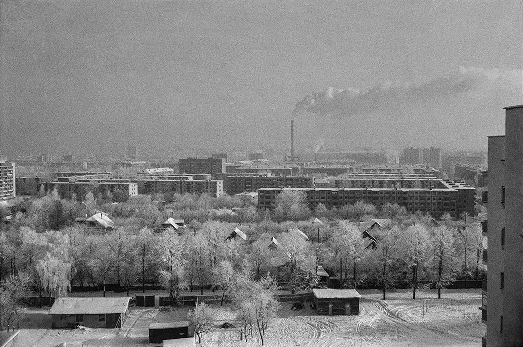 Где-то в Минске. 1984г