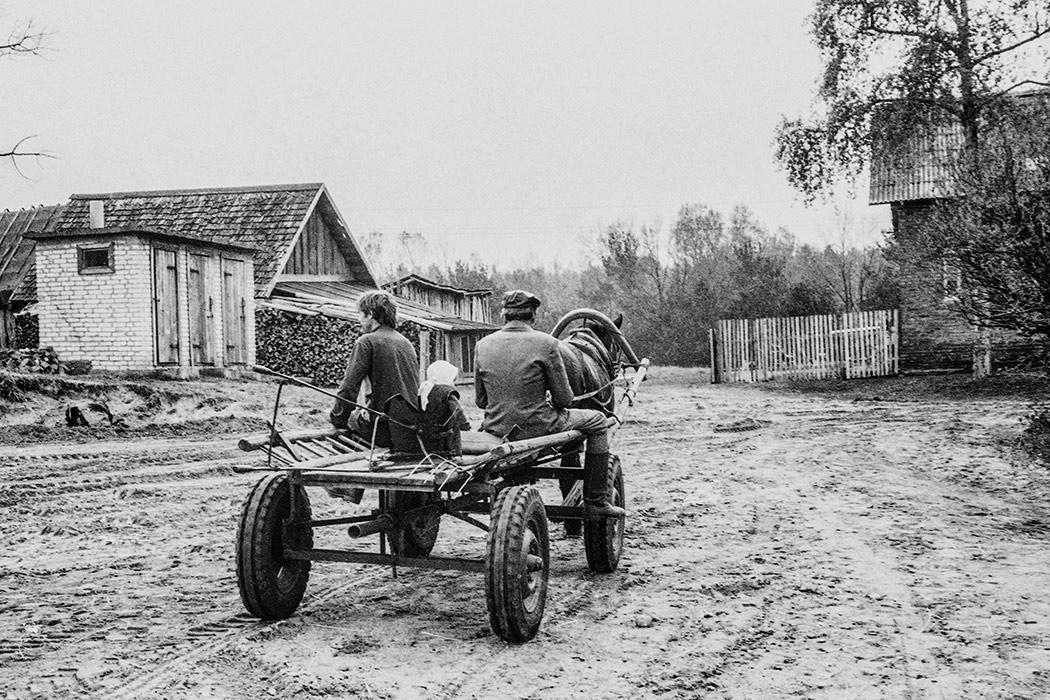 Семья. 1986год. Гомельская обл. Чернобыльская зона