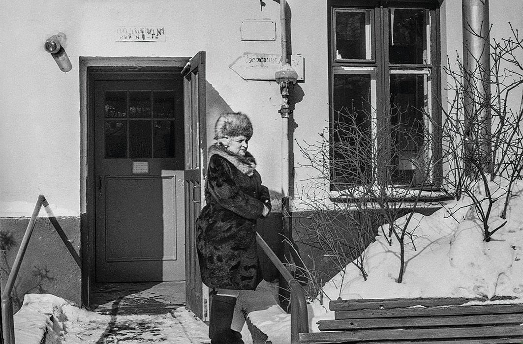 Во дворе дома по ул. Мясникова г.Минск 1984 год