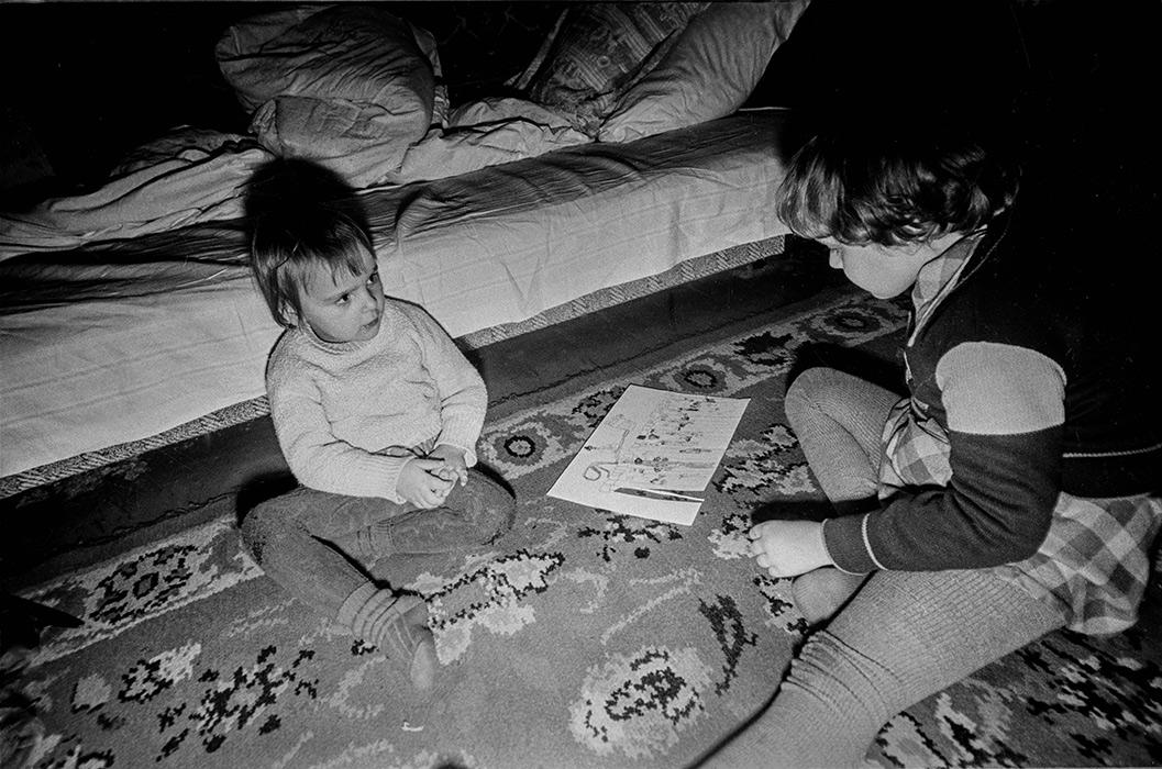 Детские игры. 1986год. Минск