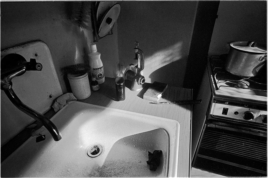Кухня. Минск. 1985год