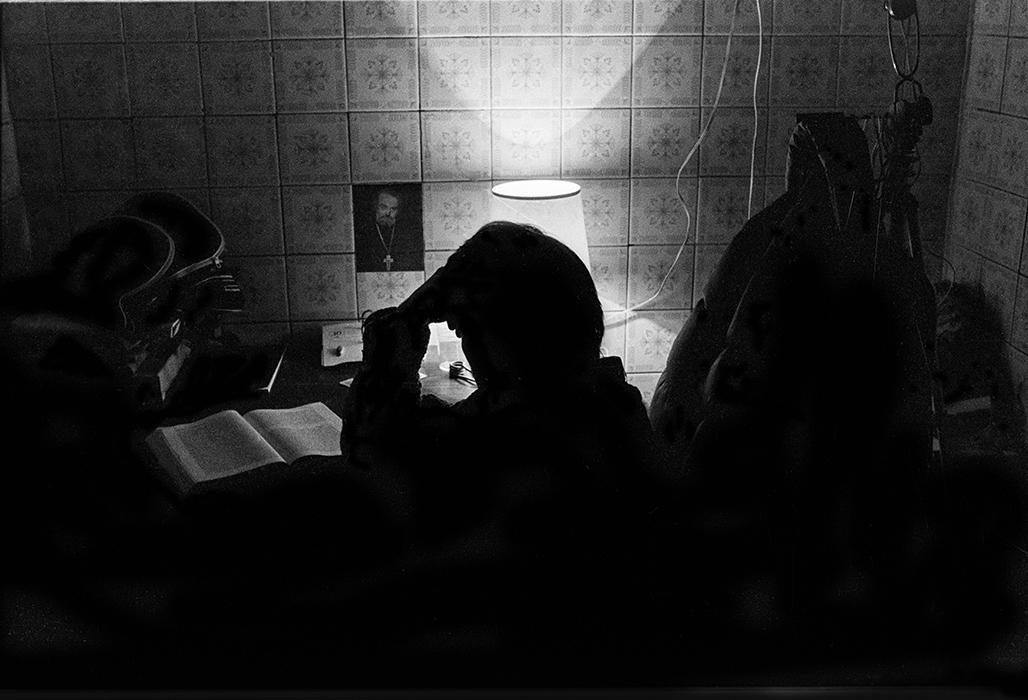 В мастерской. Минск 1984г.