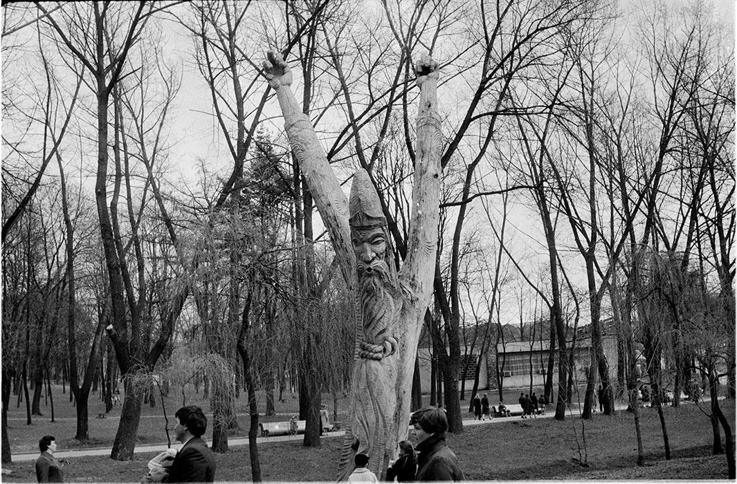 в парке М.Горького. Минск. ориент. 1986г.