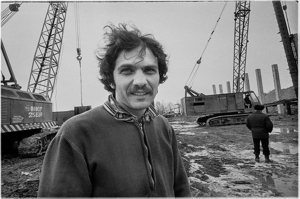 Прораб. Строители автодороги Москва- Минск- Брест 1986 год?