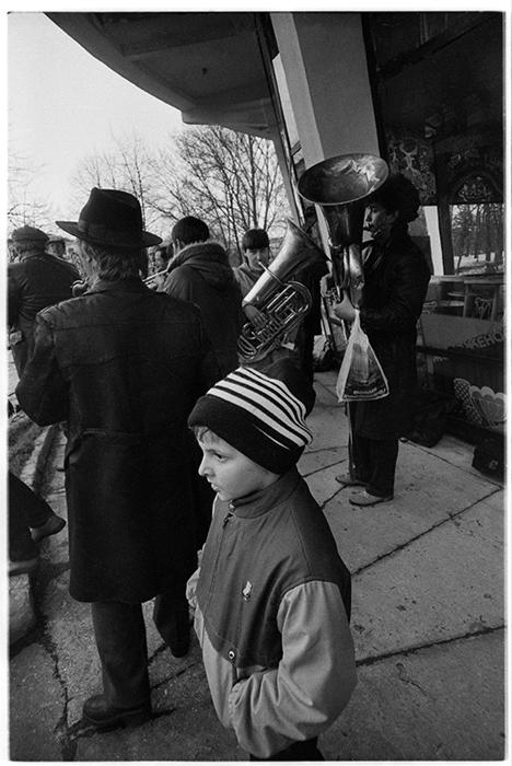 Парк М.Горького. Минск. 1986 год