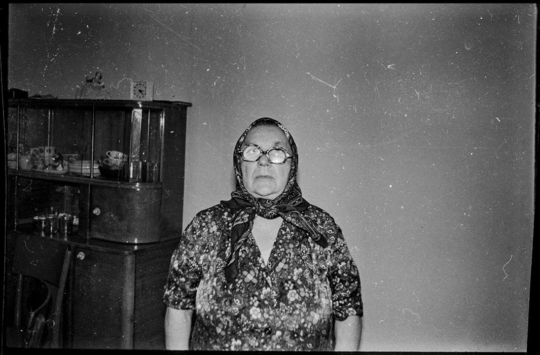 Баба Стэпа. Барановичи. 1989год
