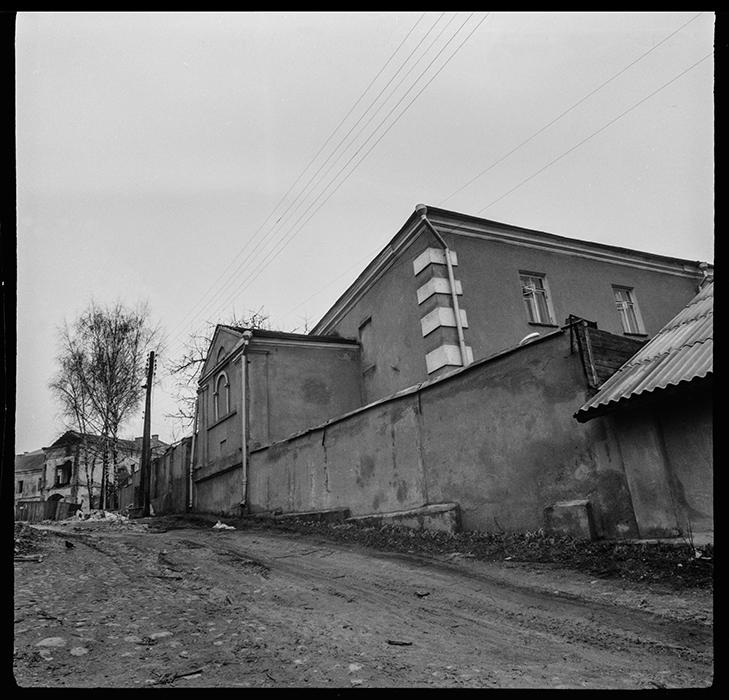 Реконструкция Верхнего города. Минск. 1989год
