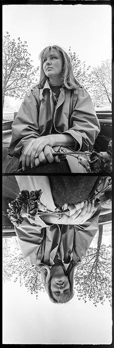Дама... Минск. Пр-кт Машерова. 1987год