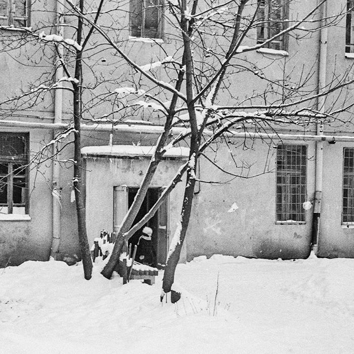 Минск. Зима. 1986год