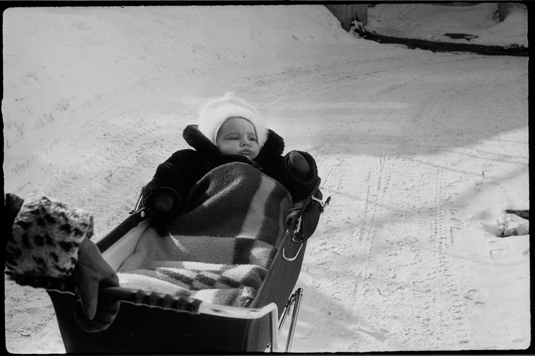 Во дворе. Минск. 1984 год