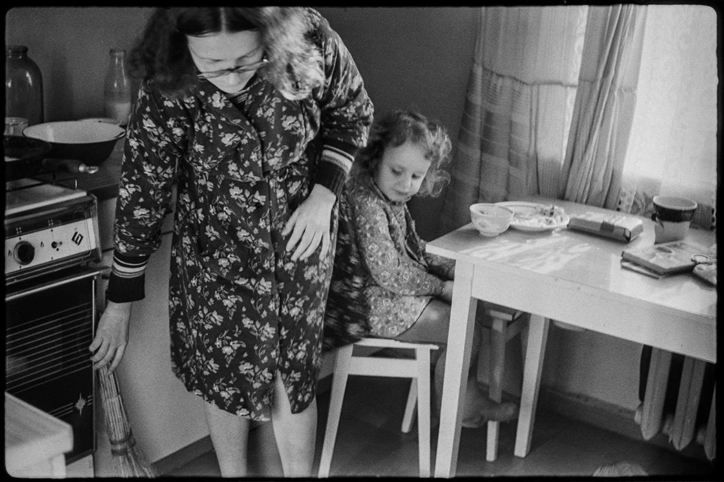 Воскресный завтрак. Минск. 1984 г.