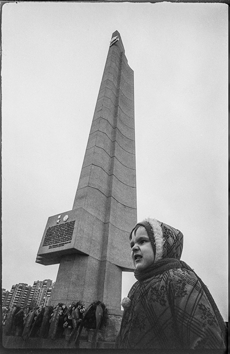 Минск. Пр-кт Машерова. 1987 год