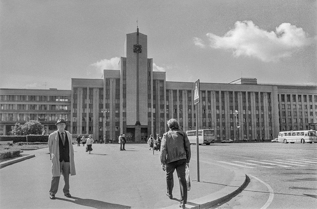 Площадь Ленина. Минск. 1986год