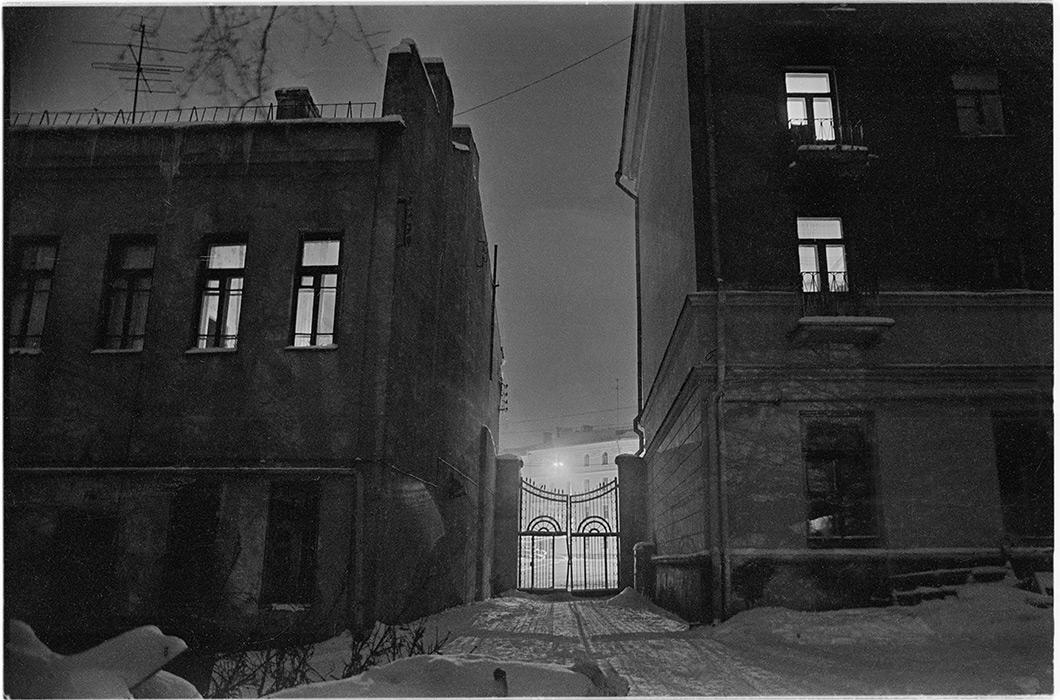 Дворик на пл. Мясникова. Минск. 1983г.