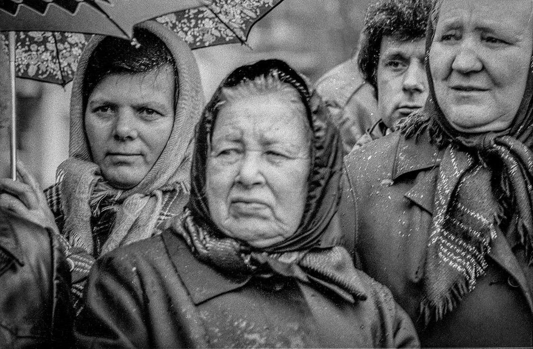 Лица в напряжении. Минск. 1982г.