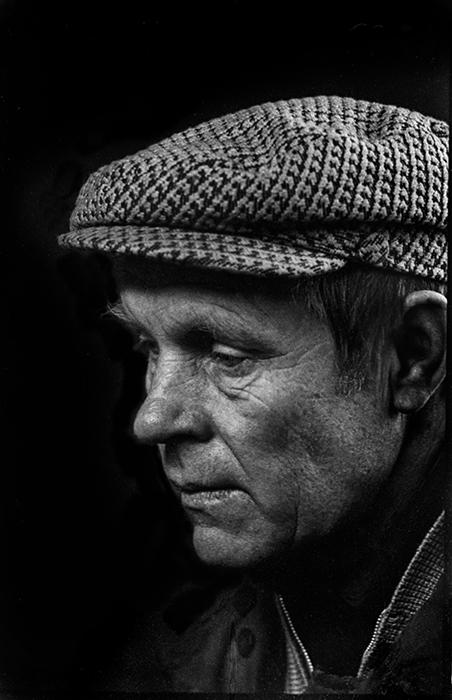 Портрет водителя строителя автодороги Москва-Минск-Брест 1983г.