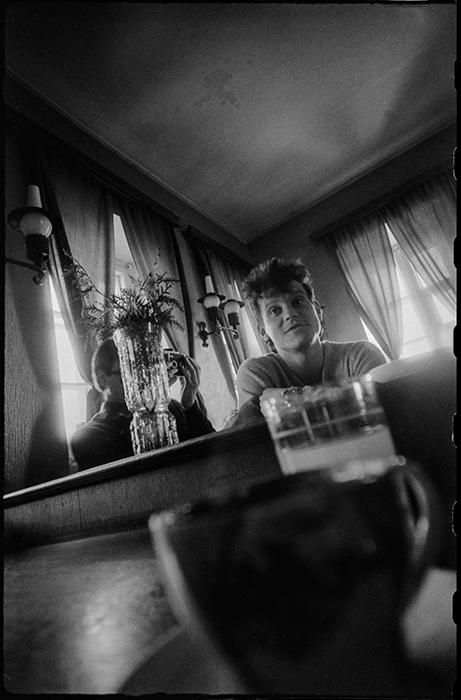 В кофейне в Троицком предместье. Минск. 1987г.