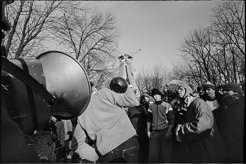 В парке М.Горького в Минске. 1986г.