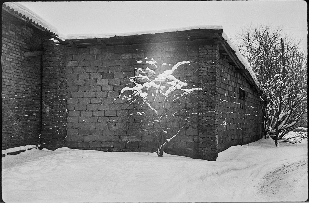 Минские дворики. 1986г.