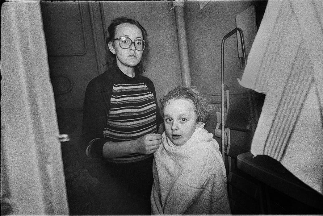 В ванной. Минск. 1985г.