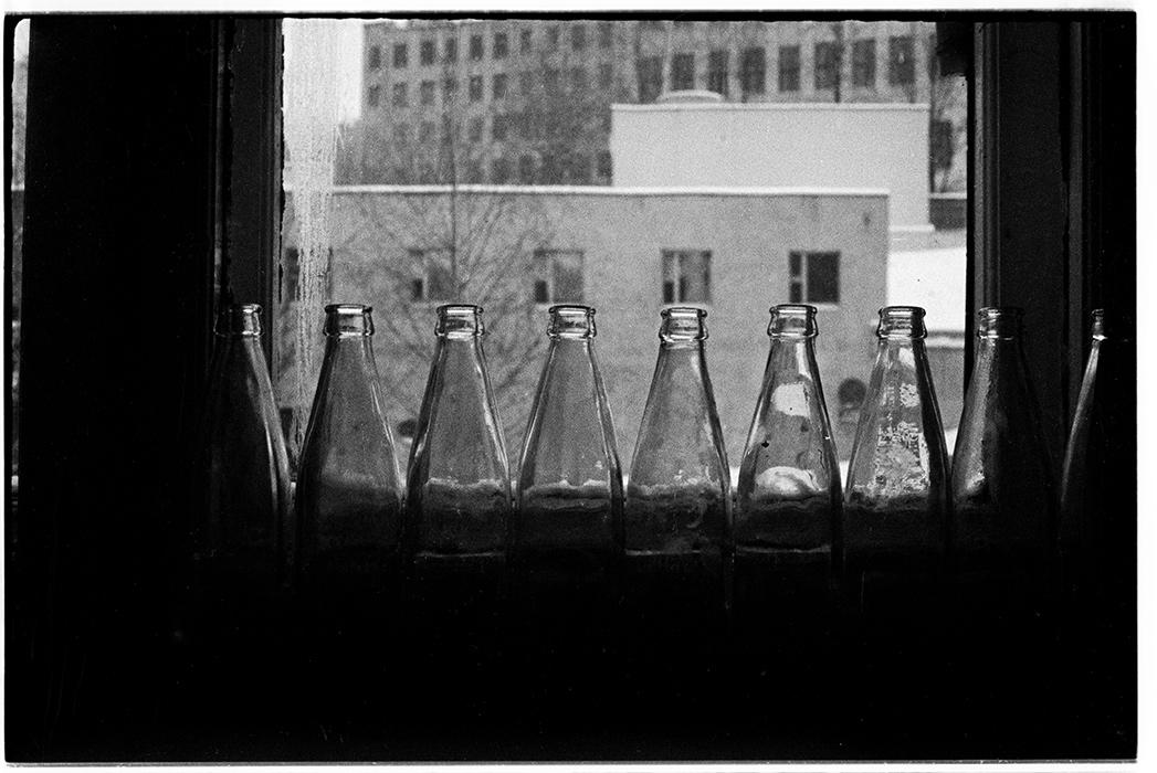 Из окна. Минск. 1984г.