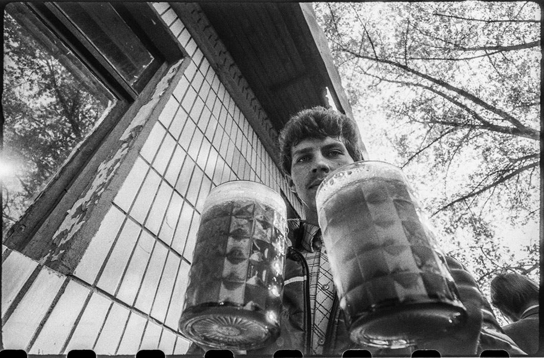 Утро. Минск. 1984г.