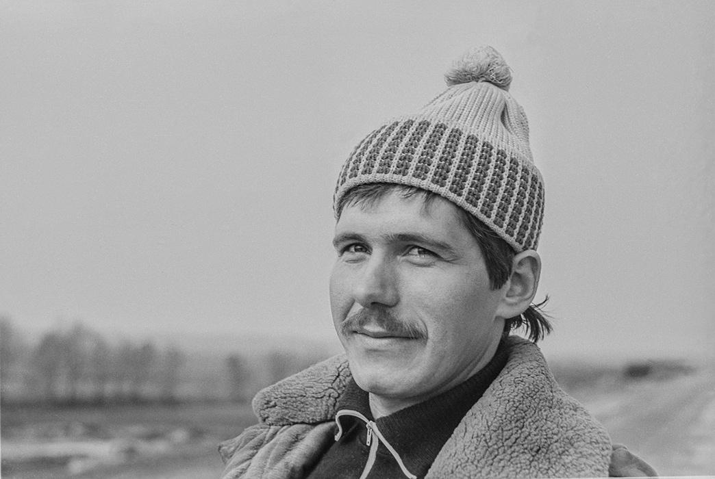 Дорожный мастер. Автодорога Москва -Минск-Брест. (Самохваловичи) 1983?г.
