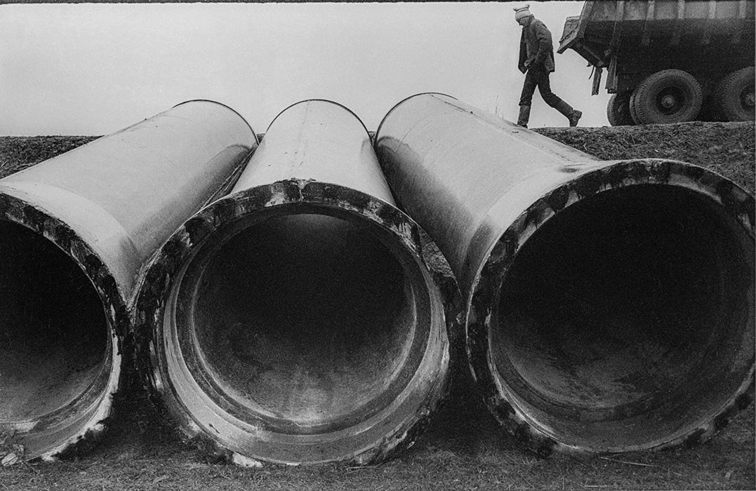Композиция, Минская обл, строительство автодороги Москва-Минск-Брест, 1982 год