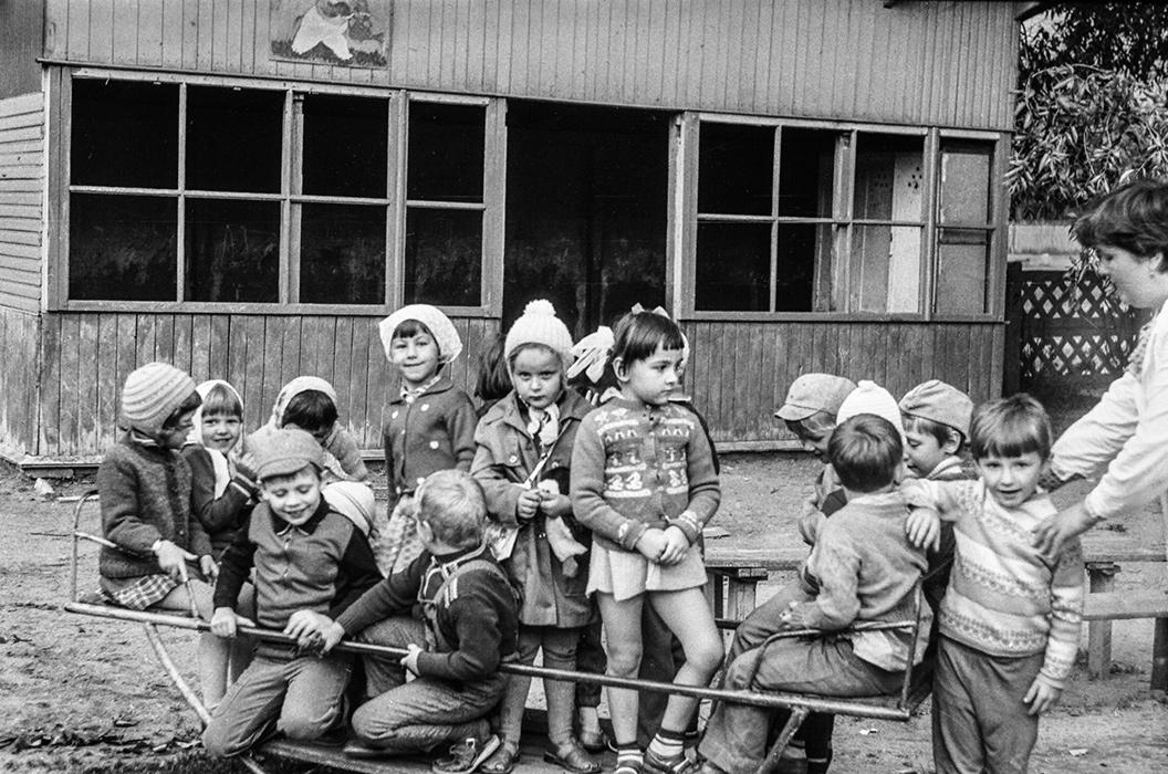 Детский сад. Минск, 1984г.