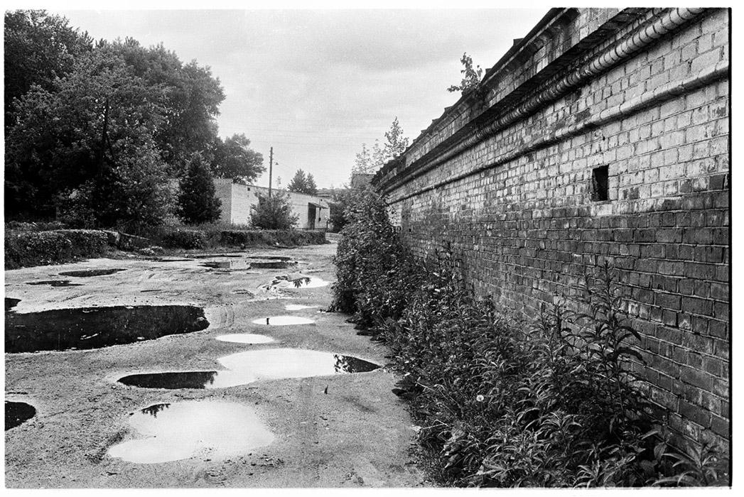 Минск, Верхний город (сейчас это ул. Торговая) 1987г.