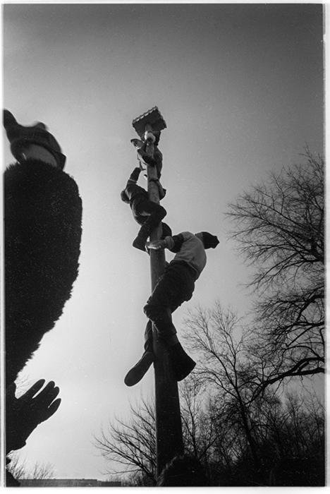 Масленица. Парк Горького. Минск. 1986год