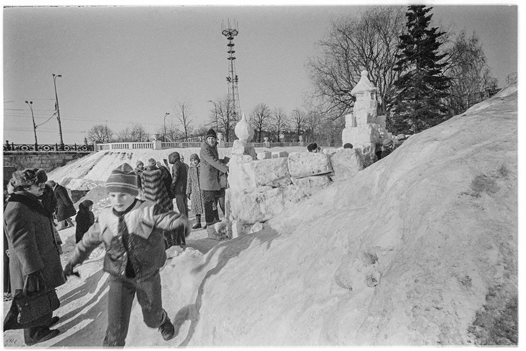 Масленица, парк Горького, Минск, 1986 год