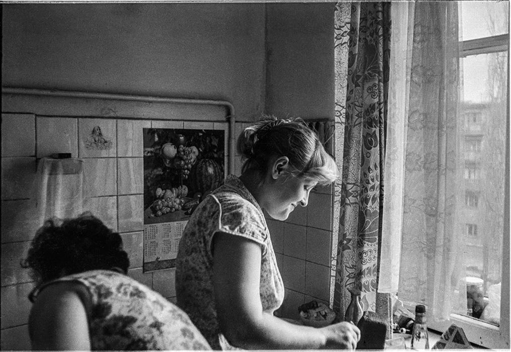 На кухне. Брест, 1985 год