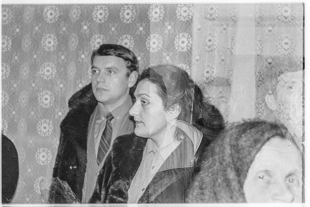 На свадьбе. Барановичи, 1984 год