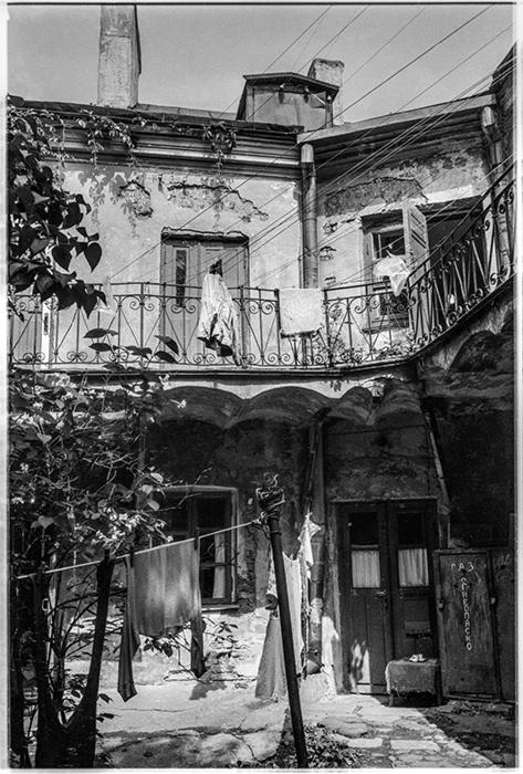 Дворик в Верхнем городе, Минск, 1984 год