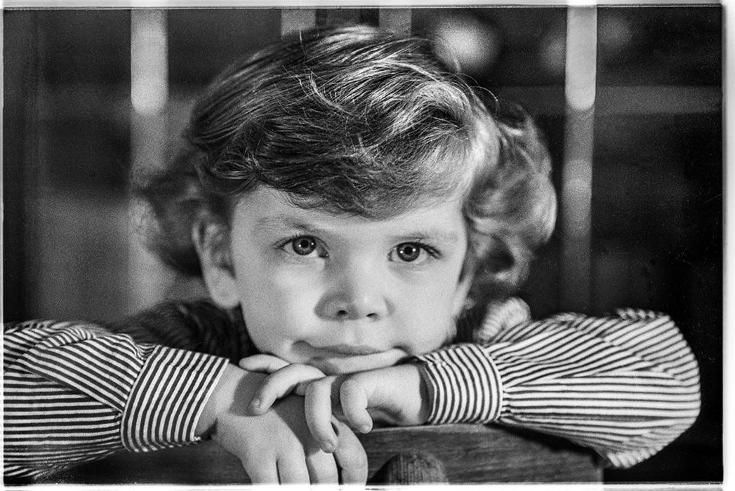 Портрет мальчика в детском саде, Минск, 1985 год