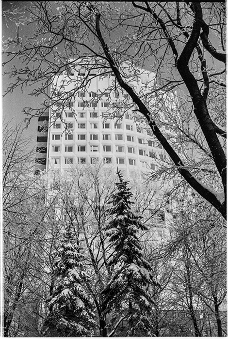 Юбилейна площадь. Минск. конец 80-х